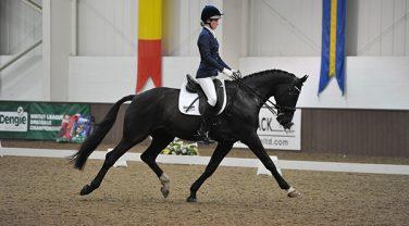 Matilda Hayley Championships show Horse trotting