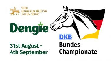 Dengie at the Warendorf Show 31st August to 4th September