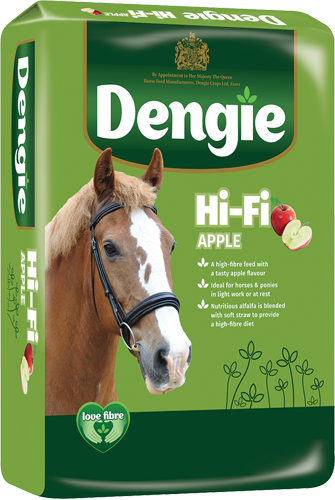 hi-fi-apple horse feed