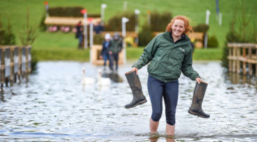 Dengie Staff in Flooded Path
