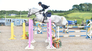 Horse Jumping 2 Fences at once