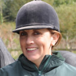 Jockey Headshot with Riding Hat
