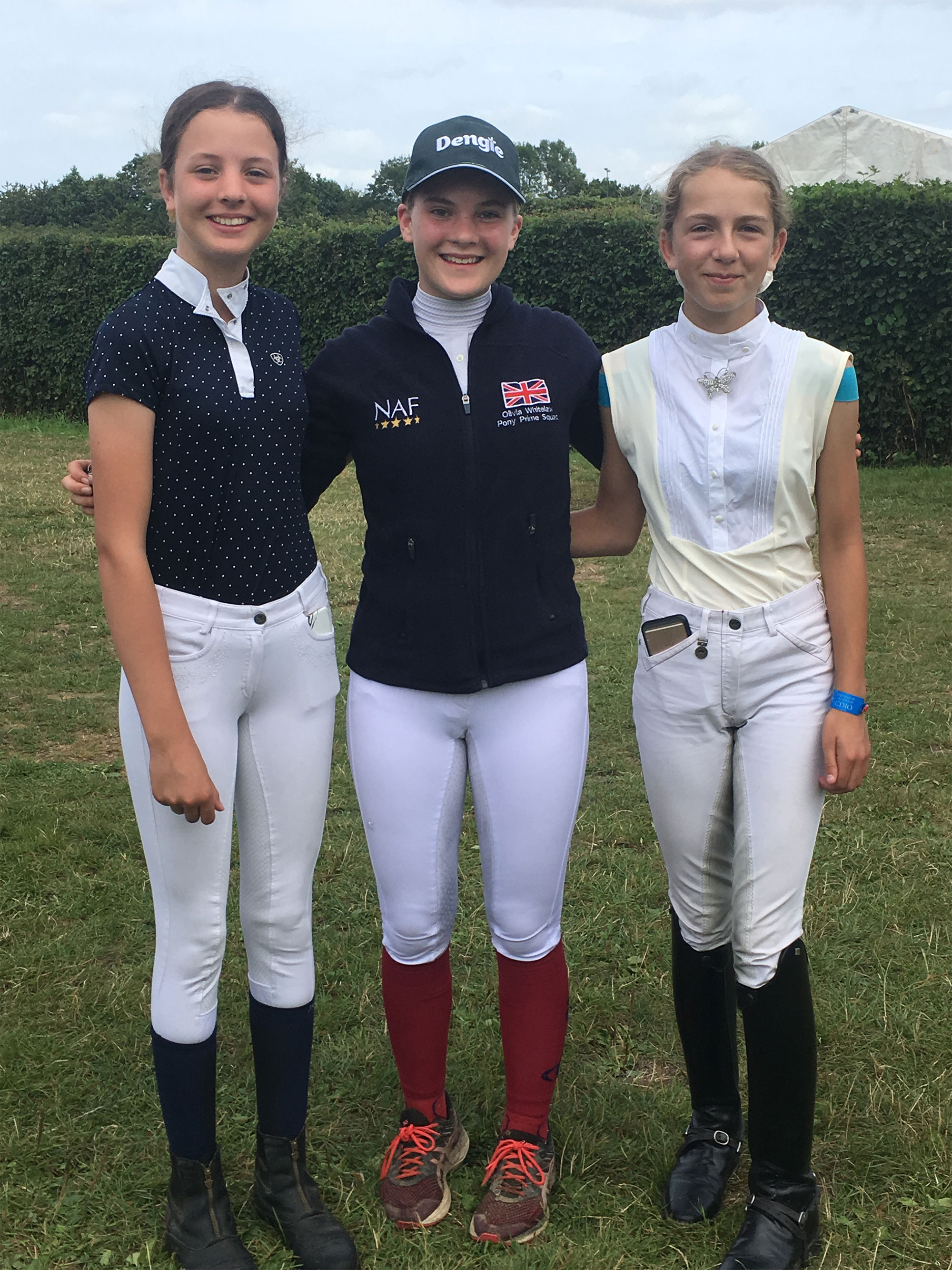 Olivia Whitelaw and Friends at Hickstead