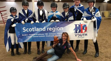 British Dressage Youth Scotland Squad