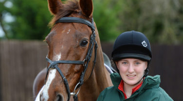 horse and rider Liv Nolan and Cici