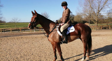 horse and rider Liv Nolan and Cici