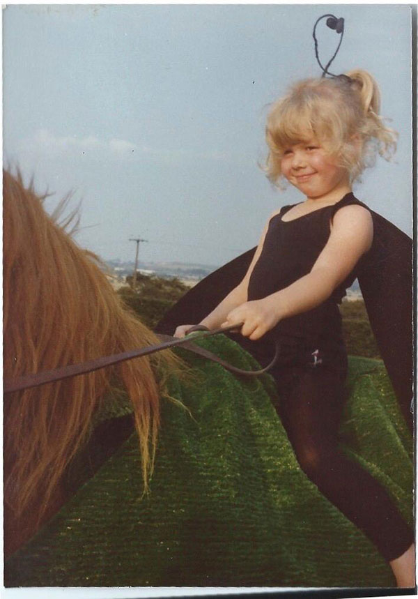 Young Hannah Esberger