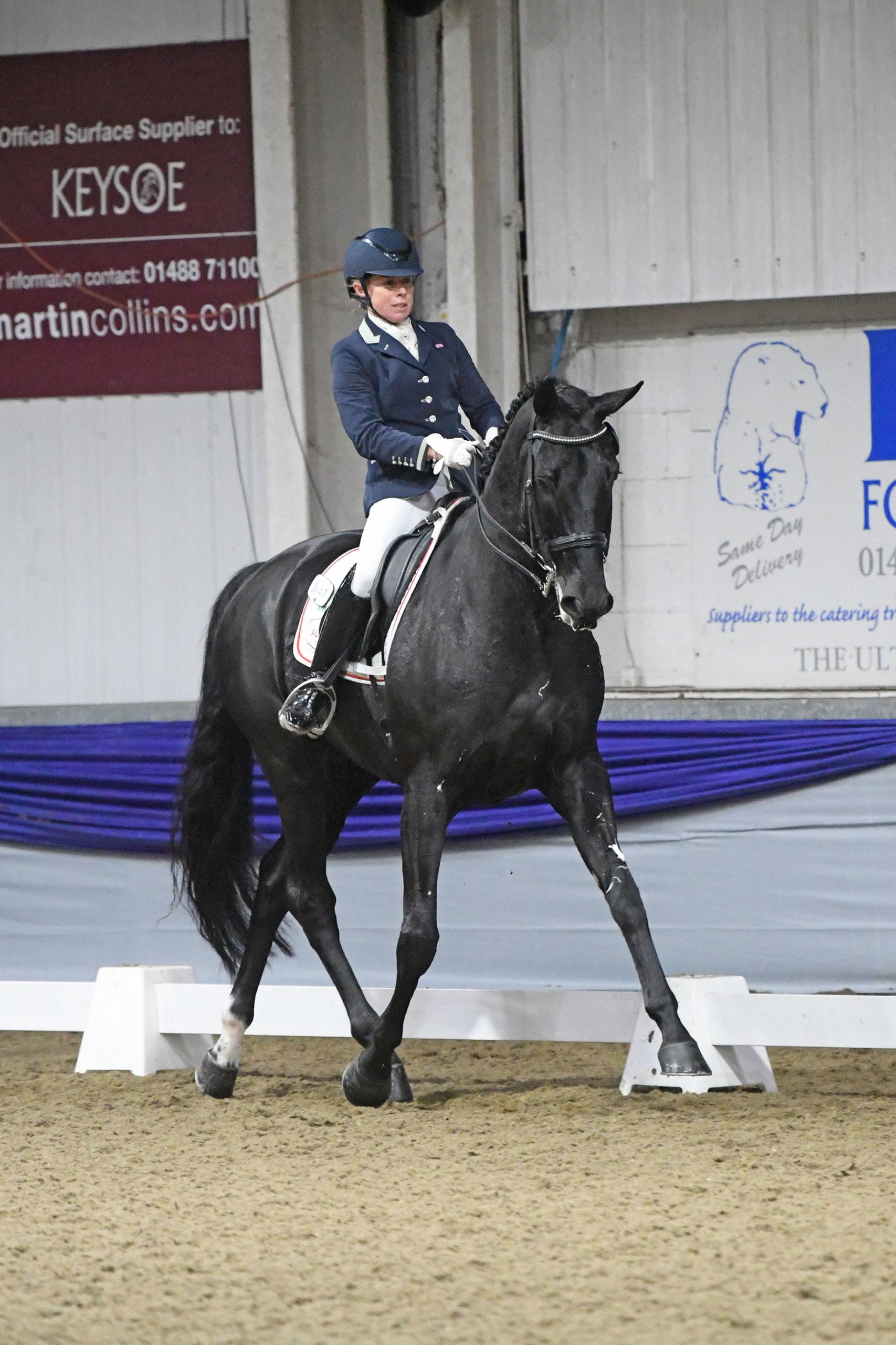 Hannah Esberger-Hancock - BD Young Horse Championships
